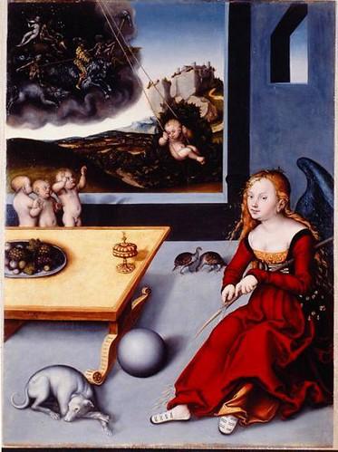 Lucas Cranach - Melancholie