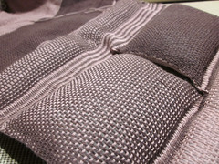 double weave pillows