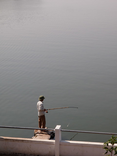 Ho Tay fishing