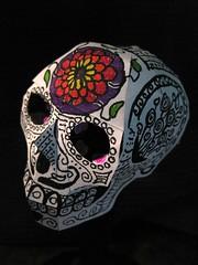 Paper Craft Skull