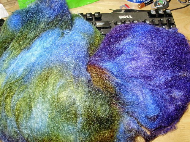 brushed mohair