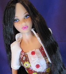 Sydney Portrait (Still Plays With Dolls) Tags: model barbie muse melody freckles reroot