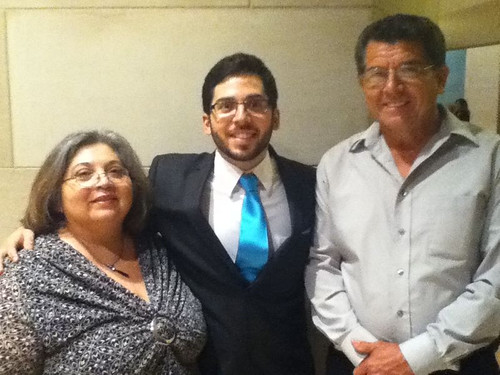 Mikey with Parents