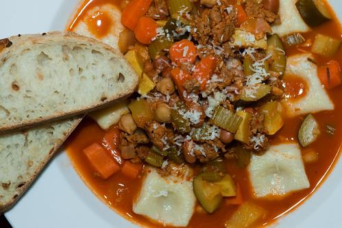 Faggioli with potato gnocchi