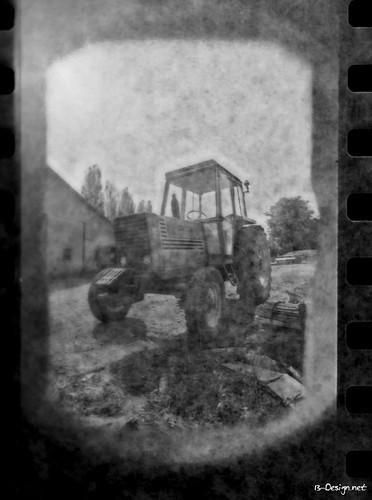 Tracteur Argentique