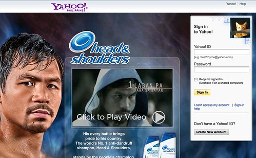 manny in Yahoo mail