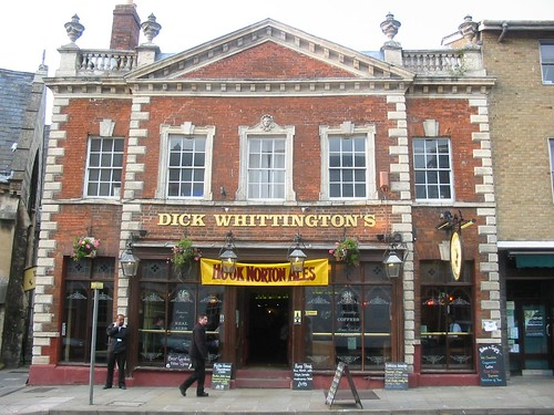 The Front of The Dick Whittington