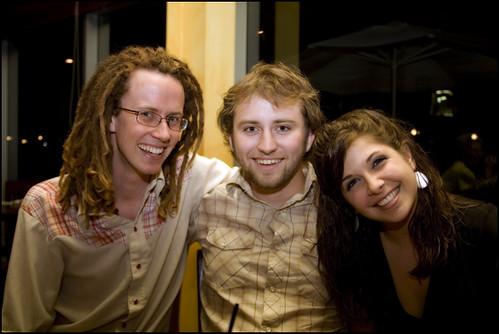 Andrew, Katlin, and Dan