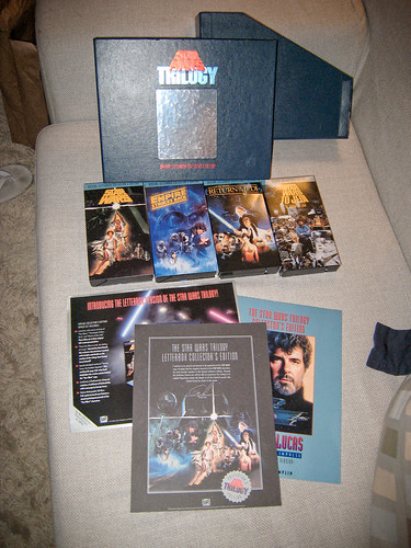 Star Wars Vhs Box Set. Star Wars Trilogy: VHS