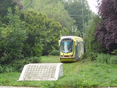 verloren tram - foto Hannes de Geest