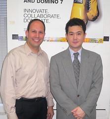 with Fumihiko Suzuki of Notes Consortium