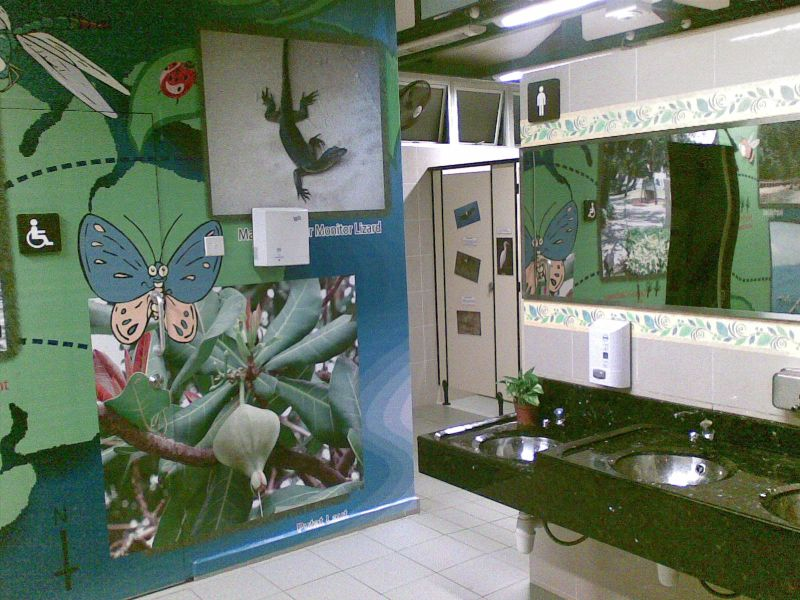 Olive Toilet 2