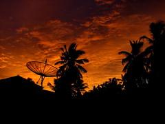 Home Sweet Home (╚ DD╔) Tags: trees sunset sky house home clouds dish coconut satellite palm maldives didi antennae addu hithadhoo beachvilla atcdd korovau