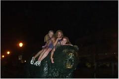 Jess and friends on Bear