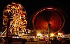 Ferris wheel, long exposure (utnapistim) Tags: longexposure light wheel tag3 taggedout d50 interesting nikon tag2 tag1 cyprus ferris 1855mmf3556