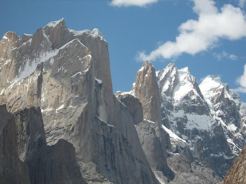 Rocky ridges, Trango Towers
