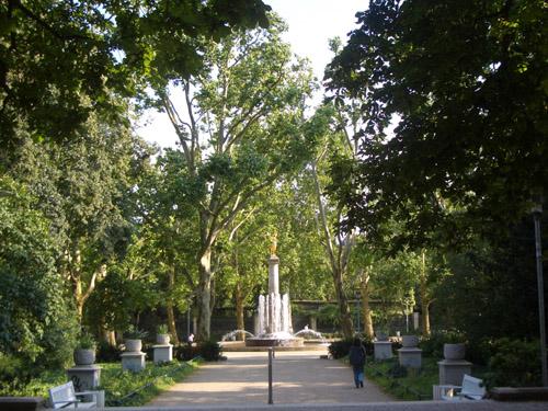 Park Entrance (Fountain)