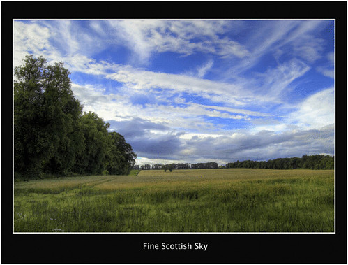 Fine Scottish Sky