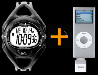 Timex iPod combo