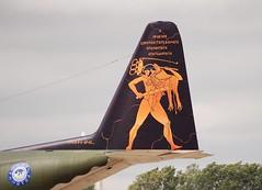 The Mighty Hercules (Si 558) Tags: art tattoo force aviation air tail royal international hercules raf c130 2007 fairford riat hellenic