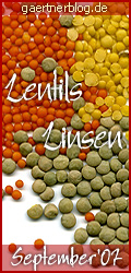 Garten-Koch-Event: Lentils - Linsen | September'07