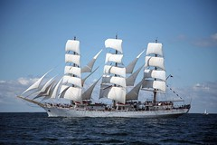 Dar Modziey (Bruno Girin) Tags: race ship polish baltic tallships darmodziey fullrigged tallshipsracesbaltic2007