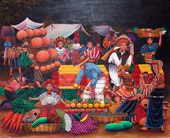 painting, Santiago Atitlan