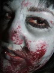 main day zombie shoot 652 (ian.mcrob) Tags: movie children zombie bodypaint brains headshots closeups musicvideo ithurts fakeblood macrovision familyandrelatives mainshoot lotsoffakeblood childzombies deaddjs deadworkmen deadanklebiters 4hoursofmakeupprep
