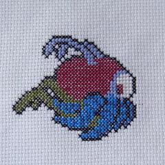 Druinlord (benjibot) Tags: crossstitch crafts videogames crop nes dragonwarrior reshoot