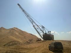Sychevo sand quarry
