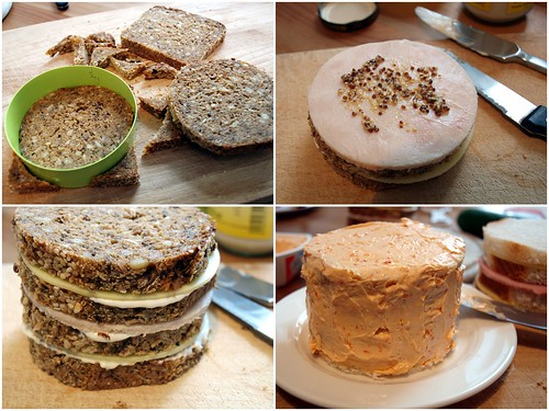 Sandwich Cake - How To