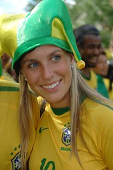 Blonde, Blue Eyes In All Brazil Yellow (austinhk) Tags: world africa girls brazil canada hot sexy cup brasil southafrica photo dance football bresil montral image quebec montreal fifa flag soccer south crowd watching picture images cte flags wm menschen tournament wc qubec babes vs fans cheer worldcup monde coupe crowds fever versus ctedivoire cotedivoire ivorycoast divoire coupedumonde copadelmundo austinhk austink worldcupfans copamundo coupdumonde fifaworldcup2010 worldcup2010 coupedumonde2010 worldcup2010insouthafrica