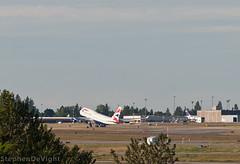 British Airways 747 Lifting Off (Stephen De Vight) Tags: seattle sea plane airplane washington airport airplanes boeing seatac britishairways 747 ksea seattletacomainternationalairport