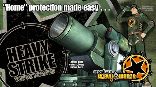Heavy Strike Cannon in PlayStation Home