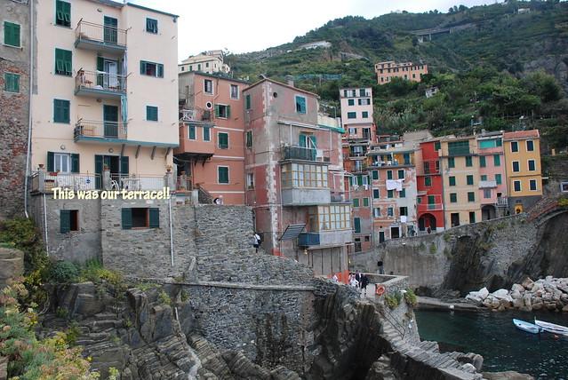 cinque terrace