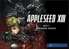 101025(1) - 漫畫家「士郎正宗」的經典作《APPLESEED 蘋果核戰》確定將在明年春天推出全13話CG動畫版!