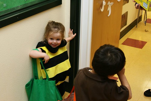 Trick or Treating at school