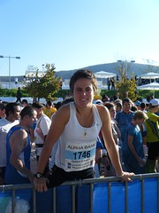 Lise at the start Photo