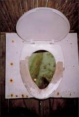 Toilet into the Ocean San Blas Islands