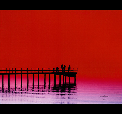 Pier in Red