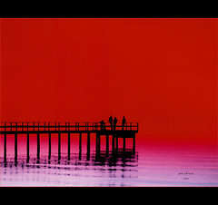 Pier in Red (Jerri Johnson (away)) Tags: pier red silhouette sunset color oneofakind ocean seascape beach california magicdonkey anawesomeshot impressedbeauty abigfave blueribbonwinner explored bravo flickrsbest ysplix frhwofavs supershot perfectangle colourartaward cotcmostfavorited themoulinrouge betterthangood theunforgettablepictures multimegashot topf100 topf200 topf75 topf50 topf150 phvalue exploreheaven thegoldendreams thegardenofzen theroadtoheaven topf250 favemoifrance explore overtheexcellence rashoman arttouch innamoramento themonalisasmile