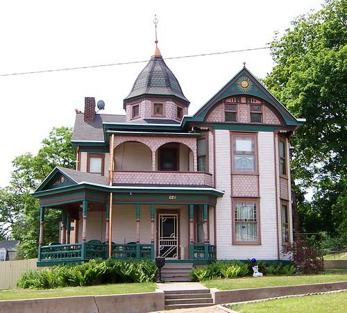 victorian house. Vandalia, IL Victorian House