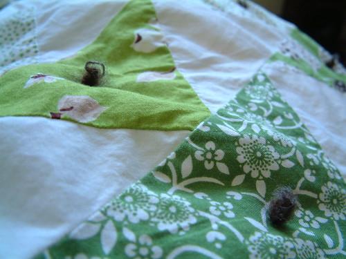 Green Quilt Nubbins