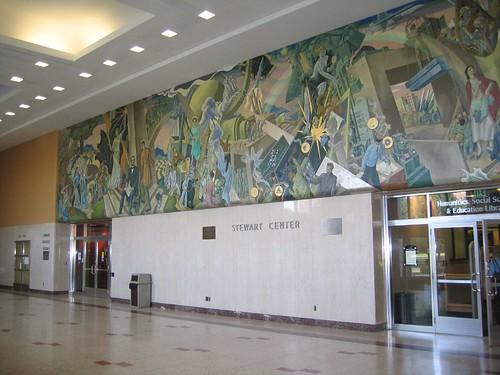 Mural in Stewart Center