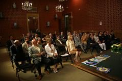 Il pubblico in Sala Rossa