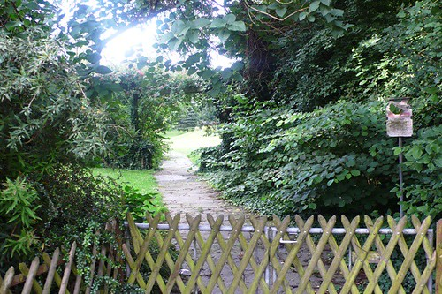 Solothurn - a quiet park
