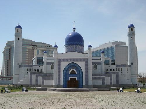 Manjali Mosque, Atyrau, Kazakhstan