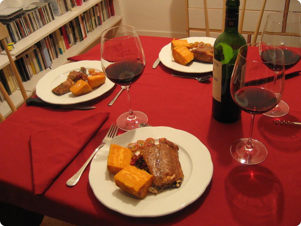 La cena para tres