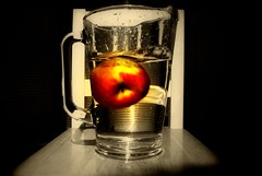 An apple a day (Nicolas Valentin) Tags: food apple water fruit experiment badweather nothingelsetodo challengeyouwinner abigfave nicolasvalentin aplusphoto bratanesque thegoldenmermaid