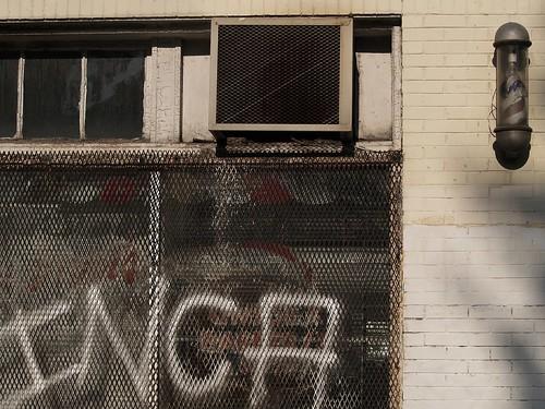 window inca graffiti washingtondc dc grill airconditioner barbershop nolongerthere georgiaavenue langeng onewordinca